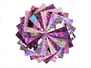 40 5 inch Purple Orchard charm pack by Benartex/ QT Fabric/10 colorways
