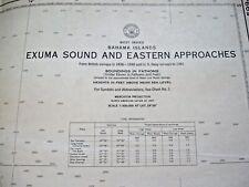 NAUTICAL NAVIGATIONAL CHART # 5994 - Exuma Sond and Eastern Approaches - Bahamas