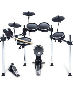 Alesis Surge 8-piece Mesh Aluminium Electronic Drum Kit. 385 Sounds. 60 Tracks.