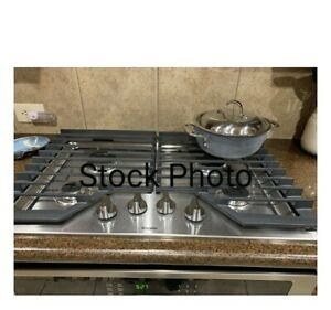 """Whirlpool 30"""" Stainless 4-Burner GAS Cooktop NEW IN BOX WCG55USOHS00"""