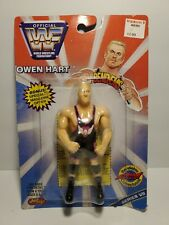 WWF Just Toys Bend Ems Series 7 Owen Hart MOC WWE NEW VII Bendems Justoys Figure