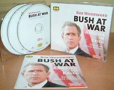 BOB WOODWARD - Bush At War - Amerika im Krieg (Spiegel Buchverlag) DG  3 CD's