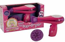Princess sèche-cheveux DELUXE jeu jouet Sèche Cheveux avec Diffuseur Nouvelle