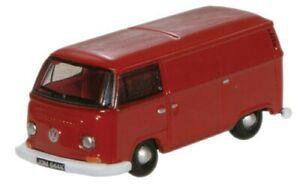 Die-Cast 1960s VW Cargo Van - Senegal Red N - Oxford #NVW005 vmf121