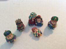 Christmas Hallmark Merry Miniatures 1997 Pageant Nativity Set