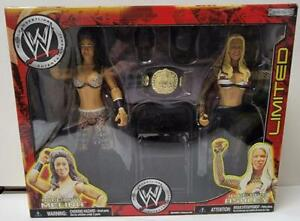 WWE JAKKS Pacific Melina And Ashley Limited Edition Action Figures New