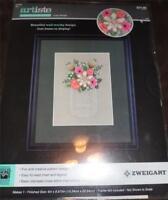 """ZWEIGART ARTISTE Stamped Cross Stitch Kit - LOVE ALWAYS - 6"""" x 8.875"""""""