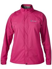 Ladie's/Women's Berghaus Calisto Alpha Waterproof Jacket Size 16 Dark Pink BNWT