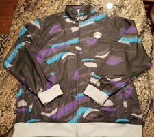 NIKE JORDAN VIII 8 Black Grape Aqua Camo Jacket Mens XL 228570 070 Vintage 2007