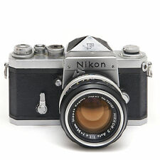 Nikon F camera with F prism and 50mm 1.4