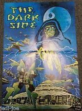 "Star Wars Folded Poster Emperor Palpatine ""The Dark Side"""