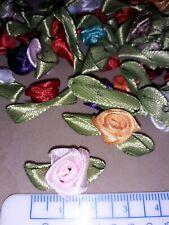 50 small ribbon roses