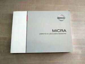 Nissan Micra Libretto Manuale Uso e Manutenzione 2007 Italiano ORIGINALE