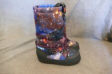 New WOMEN'S HUNTER GALAXY MOON BOOTS WINTER INSULATED BOOTS size 5