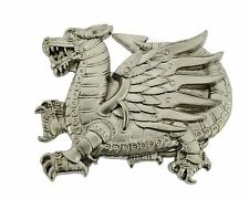 Dragon Belt Buckle Chinese New Year Mens Women Unisex Youth Metal Pewter Fashion