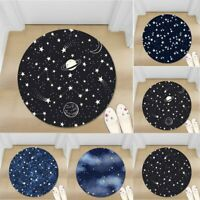 Little Star Kids Non-slip Round Soft Area Rug Floor Carpet Door Mat Home Decor