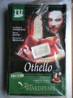 VHS Nuovo film Othello fishburne jacob branagh parker shakespeare l'unità no DVD