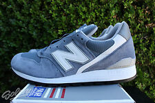 NEW BALANCE 996 SZ 9 AGE OF EXPLORATION MADE IN USA BLUE BELL SILVER M996CHG