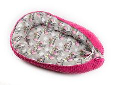 Babynest Baby nest Schlafnest für Babys Baby nestchen kokon Minky..