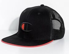 caaee6d5f6d Champion Big C Logo Black Snapback Hat