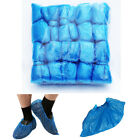 100 Pieces of disposable plastic shoe covers Water Dust Proof 5.9X14.5 Size L