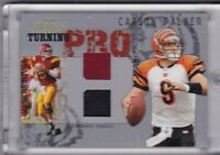 2005 Playoff Prestige Turning Jersey Card TP-5 Carson Palmer limited to 16/25