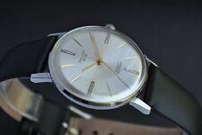 New!!! Poljot De Luxe Extra SLIM Watch Men's Vintage USSR Case Stainless Steel R