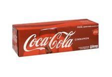 12 Pack - COCA COLA CINNAMON Flavored LIMITED EDITION COKE 12 oz CAN Soda NEW