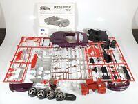Revell Dodge Viper RT/10 SnapTite 1:25 Scale  Model Kit Parts/Restore No Box