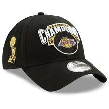 Los Angeles Lakers New Era 2020 NBA Finals Champions LR 9TWENTY Hat Cap In Hand