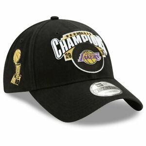 Los Angeles Lakers New Era 2020 NBA Finals Champions LR 9TWENTY Hat Cap In Hand