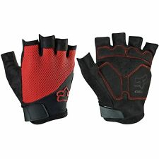 Fox Reflex Gel Men's Short MTB Gloves Red XL