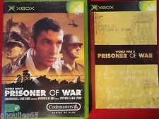 PRISONER OF WAR XBOX PRISONER OF WAR XBOX XBOX 360 WORLD WAR II
