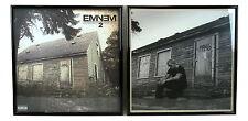 "EMINEM Framed Album Cover SET ""The Marshall Mathers LP 2""  Hip Hop Music Gift"
