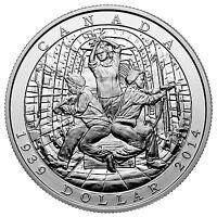 Kanada 1 Dollar Silber 2014 PP 75 Jahrestag Deklaration Zweiter Weltkrieg