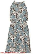 Dorothy Perkins Tenki Floral Halter Neck Tea Dress womens size: 10     *19