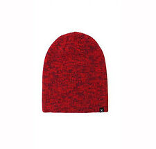 NEW HURLEY MENS GUYS DOUBLE LINED BEANIE RIBBED KNIT HAT SCULL CAP ONE SIZE