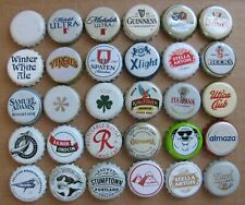 New Listing30 Different Worldwide White Themed Beer Bottle Caps