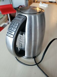 ꙮ Cuisinart CPK-17P1 1500W 1.7L PerfecTemp Cordless Electric Kettle Silver