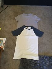 Size XS Men's T-shirts From Asos x 2