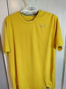 Nike Pro Combat Men's Size XL DRI FIT Short Sleeve Shirt Fitted