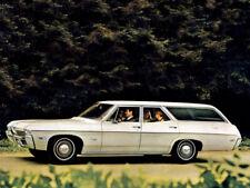1968 Chevrolet Impala Station Wagon, Refrigerator Magnet, 40 MIL Thick