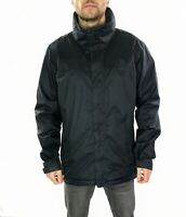 Men's The North Face Dryvent Rain Jacket With Hood In Black  Size Large