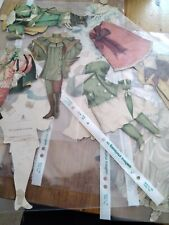 Antique  Raphael Tuck And Sons paper Doll Artistic Series Various