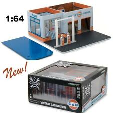 GREENLIGHT 57012 MECHANIC'S CORNER SERIES 1 VINTAGE GAS STATION GULF OIL 1:64