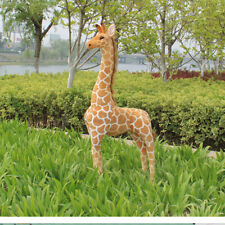 AU 100CM Big Plush Giraffe Toy Cute Doll Large Stuffed Animal Kids Xmas Gift