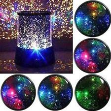 Romantic Sky Star Night Light Xmas Gift Projector Lamp LED Colourful Lights xb-t