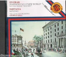 Dvorak: Sinfonia (Symphony) No 9 - Smetana: La Moldava / Szell, Cleveland. - CD