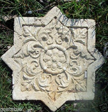 Celtic star stepping stone mold  abs plastic reusable mold