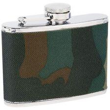 2 Drinkware Flasks Maxam 4oz StainlessSteel Camouflage Wrap  KTFLKCW4 Retail $34